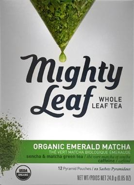 Mighty Leaf Organic Emerald Matcha Tea Bags