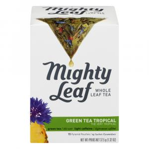 Mighty Leaf Tropical Green Tea Bags