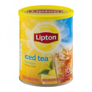 Lipton Lemon Ice Tea Mix 10 Quarts
