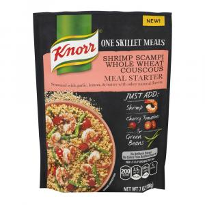 Knorr One Skillet Meals Shrimp Scampi Whole Wheat Couscous