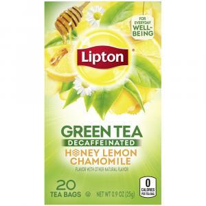 Lipton Decaf Green Tea Honey Lemon Chamomile
