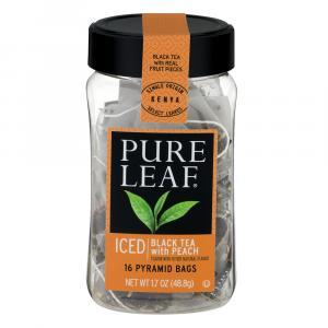 Pure Leaf Black Tea With Peach
