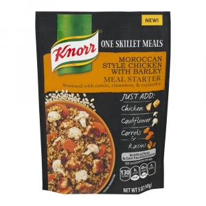 Knorr One Skillet Meals Moroccan Style Chicken With Barley