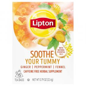 Lipton Sooth Your Tummy Tea Bags