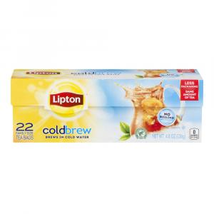 Lipton Cold Brew Family Size Tea Bags