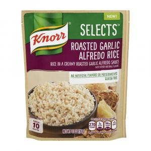 Knorr Selects Roasted Garlic & Alfredo Rice