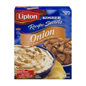 Lipton Kosher Recipe Secrets Onion Soup Mix