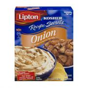 Lipton Kosher Recipe Secrets Onion Soup Mix