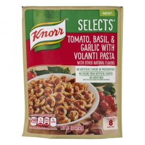 Knorr Selects Tomato, Basil, & Garlic With Volanti Pasta