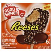 Good Humor Reese's Frozen Peanut Butter Dessert Bars