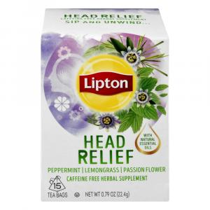 Lipton Daily Support Herbal Supplement With Green Tea Bags