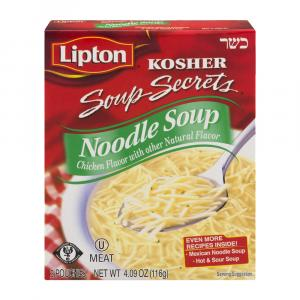 Lipton Kosher Recipe Secrets Noodle Soup Mix