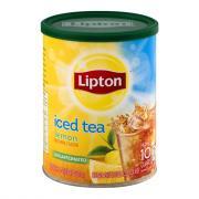 Lipton Decaf Lemon & Sugar Iced Tea Mix