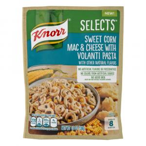 Knorr Selects Sweet Corn Mac & Cheese Volanti Pasta