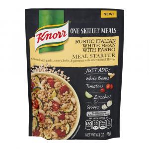 Knorr One Skillet Meal Rustic Italian White Bean White Farro