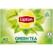 Lipton Decaf Green Tea Bags