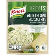 Knorr Selects White Cheddar Broccoli Rice
