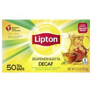 Lipton Decaffeinated Tea Bags