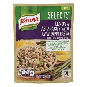 Knorr Selects Lemon & Asparagus With Cavatappi Pasta