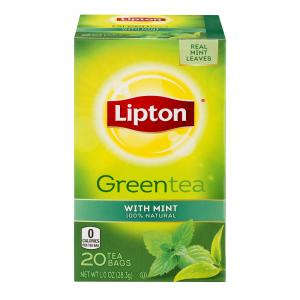Lipton Green Tea with Mint