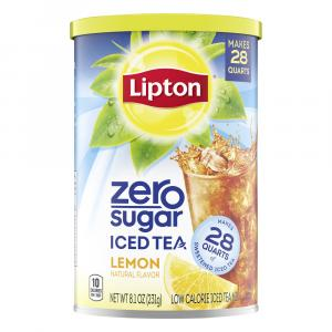 Lipton Zero Sugar Lemon Iced Tea Mix