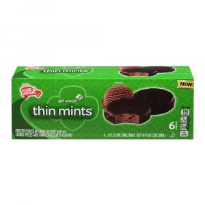 Good Humor Girl Scouts Thin Mints Bars