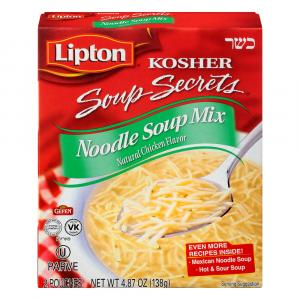 Lipton Kosher Soup Secrets Noodle Soup Mix