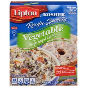 Lipton Kosher Recipe Secrets Vegetable Soup Mix