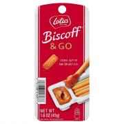 Biscoff & Go Cookie Butter and Breadsticks Single Pack