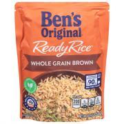 Ben's Original Ready Rice Whole Grain Brown Rice
