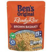 Ben's Original Ready Rice Brown Basmati
