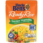 Uncle Ben's Ready Rice Garden Vegetable