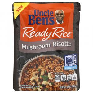 Uncle Ben's Ready Rice Mushroom Risotto