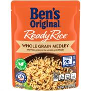 Ben's Original Ready Rice Whole Grain Medley Brown & Wild