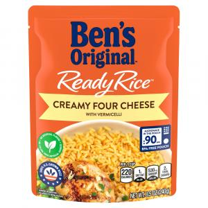 Ben's Original Ready Rice Creamy Four Cheese with Vermicelli