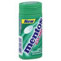 Mentos Spearmint Gum Pocket Bottle