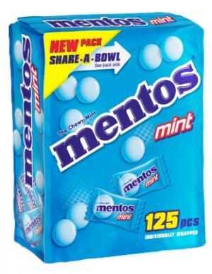 Mentos Mint Share A Bowl
