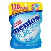 Mentos Pure Fresh Mint Sugar Free Gum