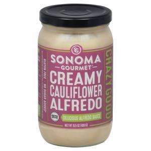 Sonoma Gourmet Creamy Cauliflower Alfredo