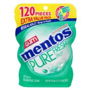 Mentos Pure Fresh Spearmint Sugar Free Gum