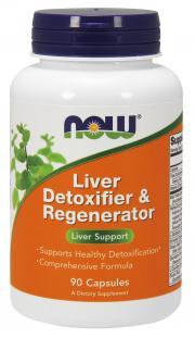 NOW Dr. Verghese's Liver Formula Detoxifier & Regenerator