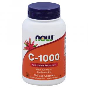 NOW Vitamin C 1000 mg Capsules