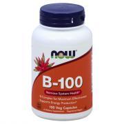 NOW Vitamin B-100 Capsules