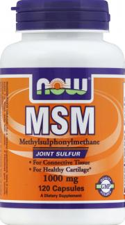 NOW M.S.M. 1000 mg