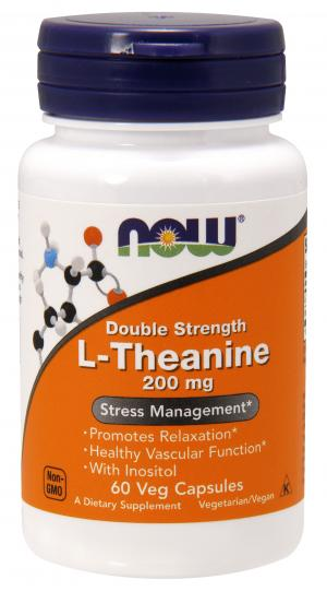 Now Theanine 200 Mg
