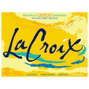 LaCroix Lemon Sparkling Water