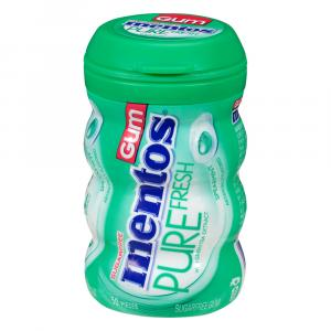 Mentos Pure Fresh Spearmint Curvy Bottle