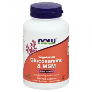 NOW Vegetable Glucosamine & MSM 500 mg
