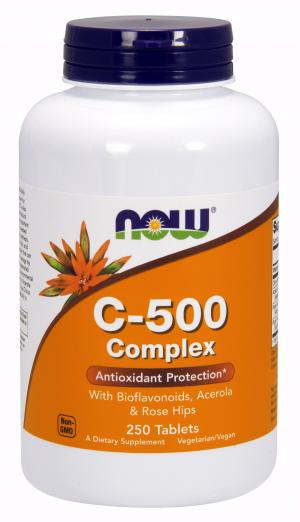 Now Vitamin C 500 Mg Complex