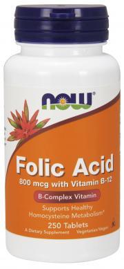 NOW Folic Acid 800 mcg
